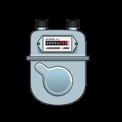 Лендинг - счетчик газа
